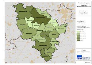 Energienutzungsplan Bsp. Landkreis