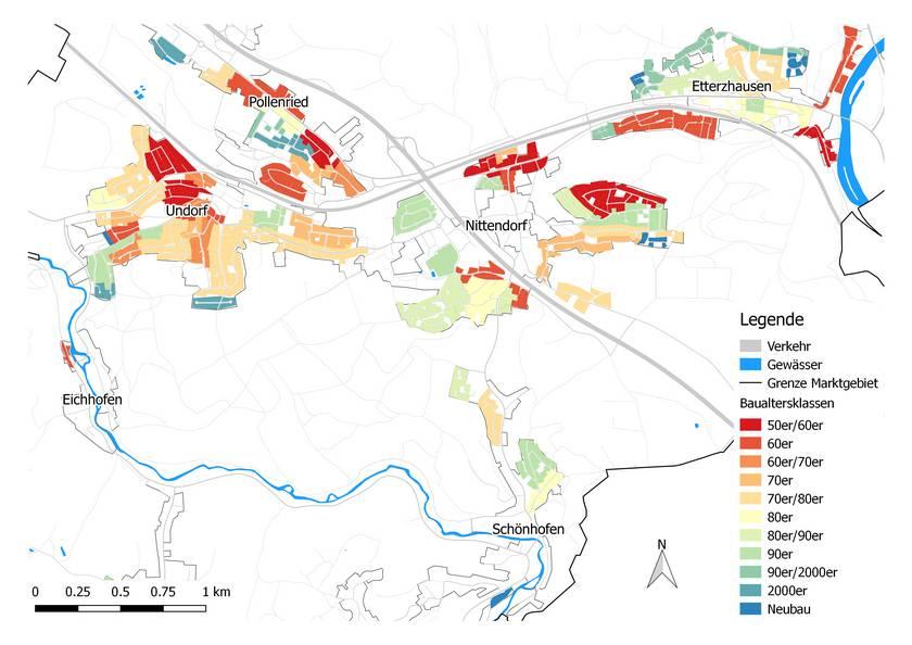 ZREU Klimaschutzkonzept Energienutzungsplan Markt Nittendorf