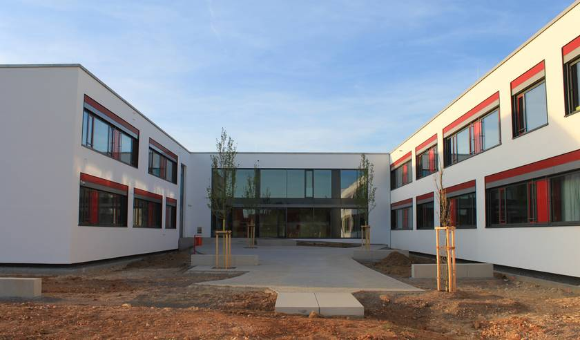 ZREU Planung Projektierung Versorgungstechnik Neubau Gymnasium Lappertsdorf